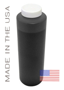 Bottle 454ml of Pigment ink for use in Epson R1900 printer Black Matte made in the USA