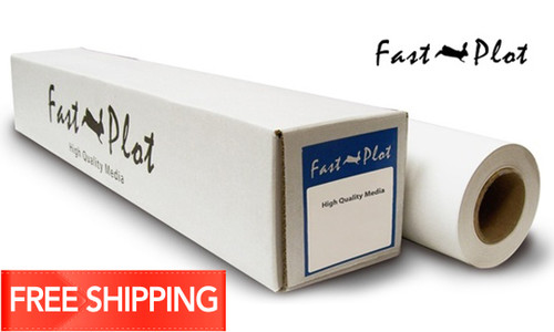 FastPlot Self Adhesive Polypropylene Banner 8mil WP 36x100 2 core