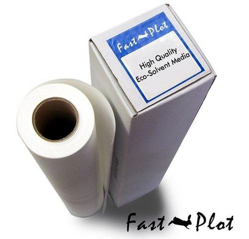FastPlot Eco Solvent Self Adhesive Vinyl 4 mil Gloss 54 x 100 3 core