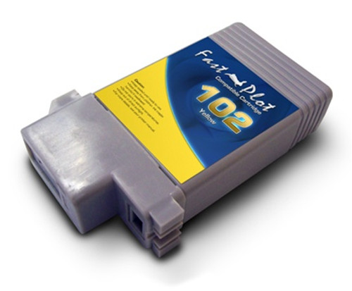 FastPlot Compatible Ink Cartridge Replacement for Canon 102 - Yellow