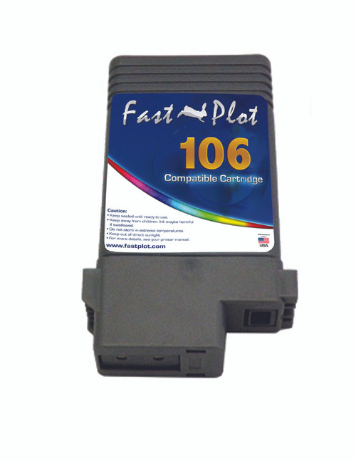 FastPlot Compatible Ink Cartridge Replacement for Canon 106 color  Blue