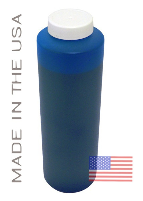 Bottle 454ml of Dye Ink for use in HP DesignJet 5000 Light Cyan made in the USA