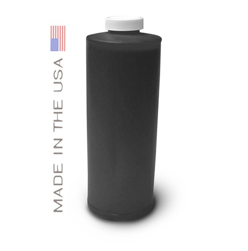 Bottle 1000ml of Pigment Ink for use in HP DesignJet T1100, T610 Matte Black made in the USA