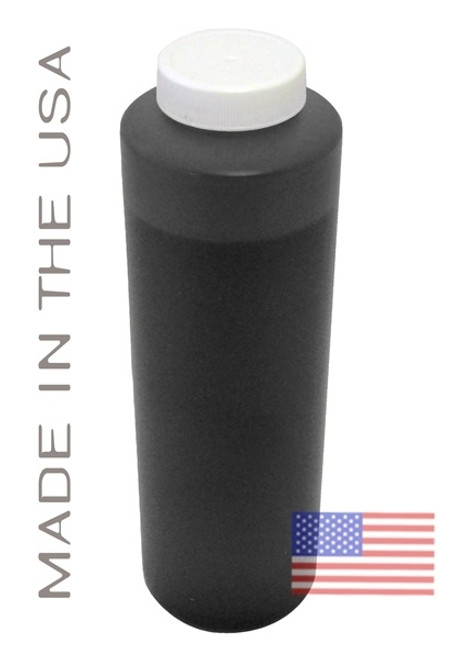 Bottle 454ml of Pigment Ink for use in HP DesignJet Z2100 Matte Black made in the USA