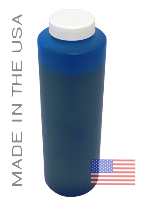 Bottle 454ml of Pigment Ink for use in HP DesignJet Z2100 Cyan made in the USA