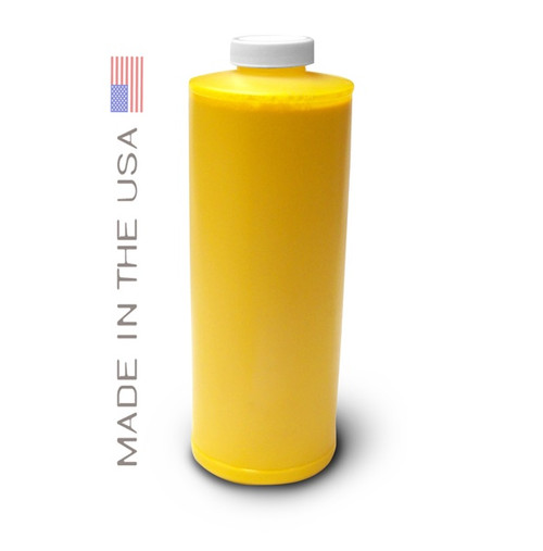 Bottle 1000ml of Pigment Ink for use in HP DesignJet Z2100 Yellow made in the USA