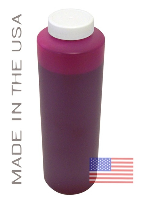 Bottle 454ml of Pigment Ink for use in HP DesignJet Z2100 Light Magenta made in the USA