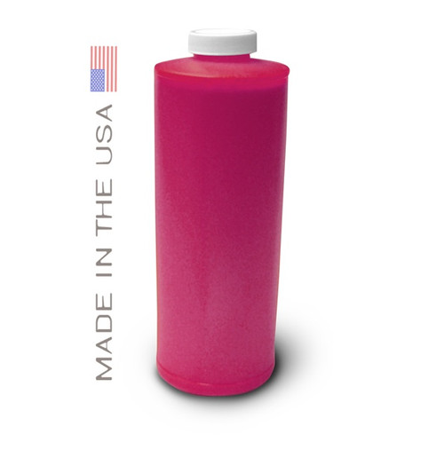 Bottle 1000ml of Pigment Ink for use in HP DesignJet Z2100 Light Magenta made in the USA