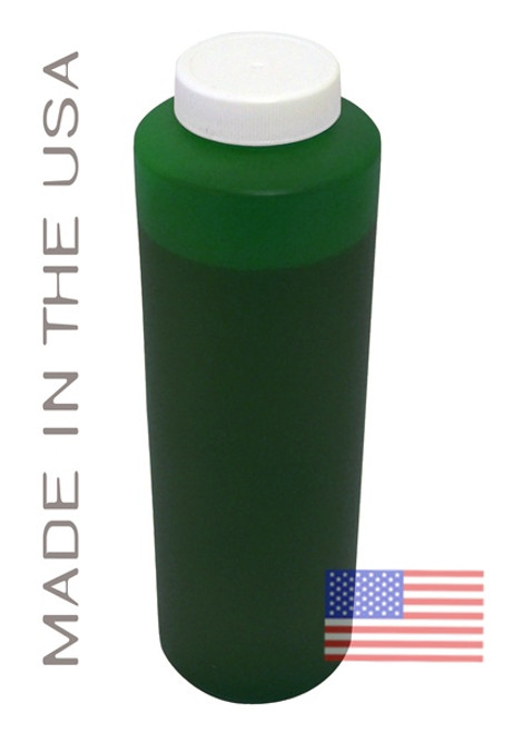 Bottle 454ml of Pigment Ink for use in HP DesignJet Z3100, Z3200 Green made in the USA