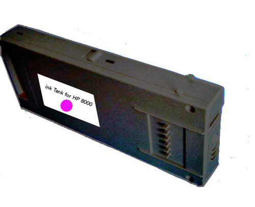 FastPlot Compatible Ink Cartridge 500ml replacement for HP 8000 (Magenta 1 Pack)