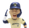 Keston Hiura (Milwaukee Brewers) Stadium Base Bobblehead Exclusive #/720
