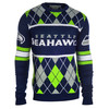 Seattle Seahawks EXCLUSIVE NFL Argyle Sweater