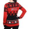 Chicago Bulls Big Logo (Women's V-Neck) NBA Ugly Sweater