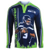 Russell Wilson #3 (Seattle Seahawks) NFL Player Poly Hoody