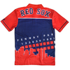 Boston Red Sox MLB Polyester Short Sleeve Thematic Polo Shirt