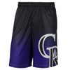 Colorado Rockies MLB Gradient Polyester Shorts By Forever Collectibles