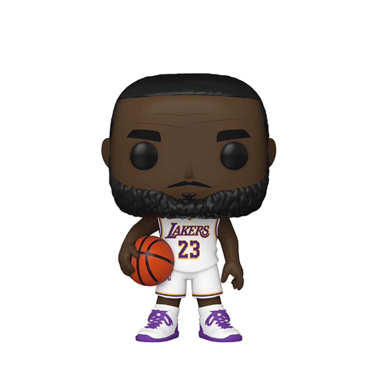 LeBron James (Los Angeles Lakers) Alternate Jersey Funko Pop! Series 5