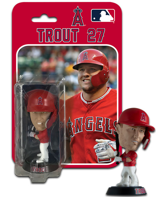 """Mike Trout (Los Angeles Angels) 4"""" MLB Bobble Head #8"""