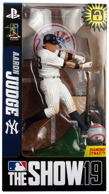 "Aaron Judge (New York Yankees) Pinstripe Jersey LE MLB The Show 19 7"" Figure"