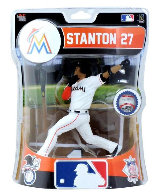 "Giancarlo Stanton (Miami Marlins) 2017 MLB 6"" Figure Imports Dragon"