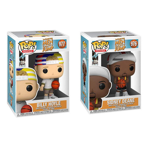 Billy Hoyle/Sidney (White Men Can't Jump) Combo Set (2) Funko Pop! (PRE-ORDER ships June)