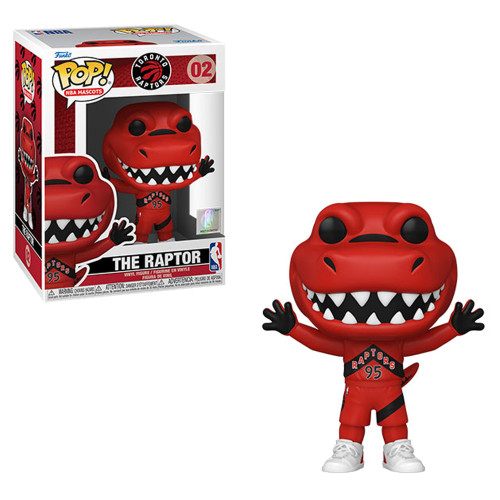 Raptor (Toronto Raptors) Funko Pop! NBA Mascots  (PRE-ORDER Ships November)