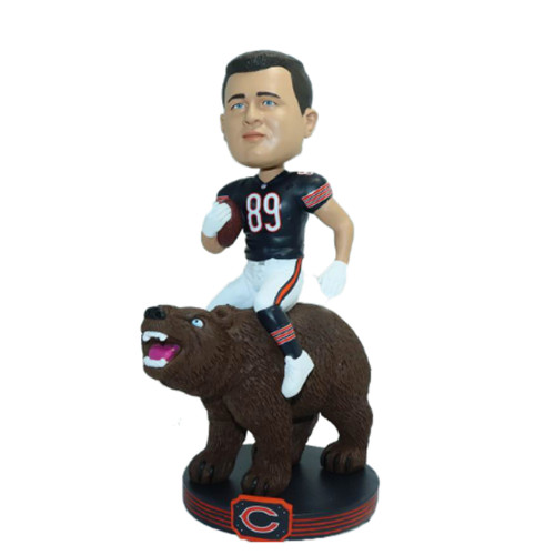 Mike Ditka NFL Riding Bobblehead
