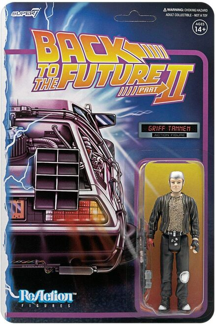 Griff Tannen (Back to the Future Part II) Super 7 ReAction Figure
