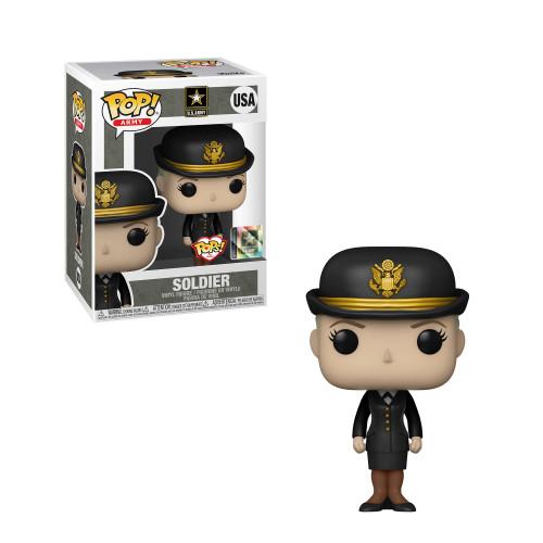 Army (Service Uniform) Female 1 Funko Pop! Military Pops With Purpose (PRE-ORDER Ships November)