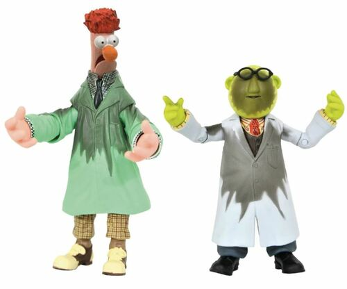 Bunsen & Beaker Muppets 2021 SDCC Lab Accident Action Figure 2 Pack by Diamond /3000