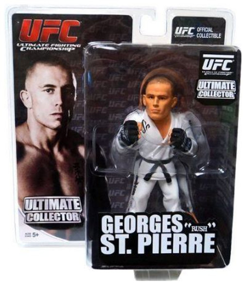 Georges St. Pierre (Sculpted Gi) Round 5 UFC Ultimate Collector Series 7 Action Figure