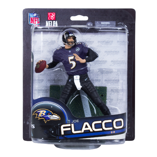 Joe Flacco (Baltimore Ravens) NFL 33 McFarlane CLARKtoys Exclusive