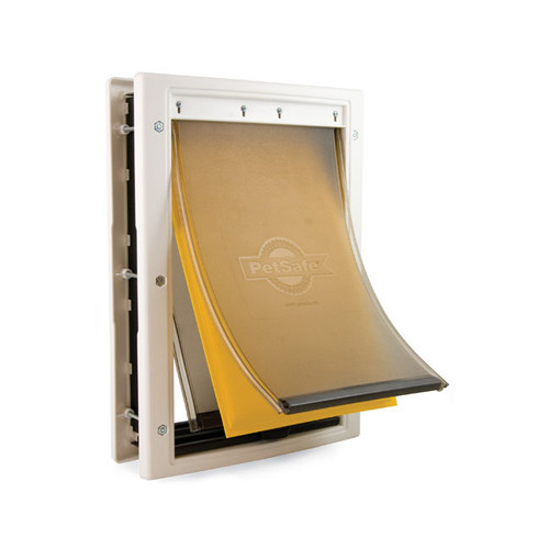PetSafe Extreme Weather Pet Dog Doors With Triple Flaps