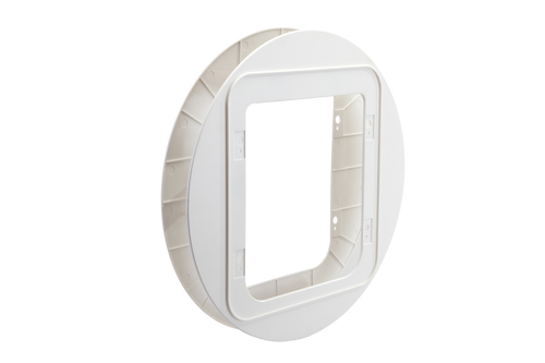 SureFlap Microchip Pet Door Mounting Adaptor (White)