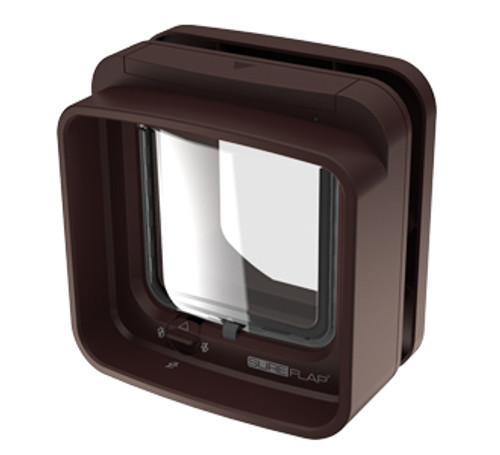 SureFlap DualScan Microchip Cat Door (Brown)