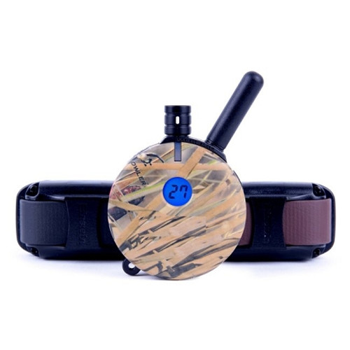 E-Collar 2 Dog 1 Mile Plus Waterfowl Hunting Dog Remote Trainer