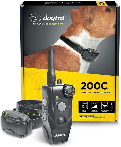 Dogtra 200C Compact Dog Training Collar 1 or 2 Dog System