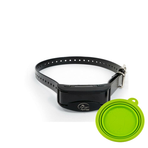 SportDOG No Bark Collar 10R Bark Control SBC-R + FREE Travel Bowl