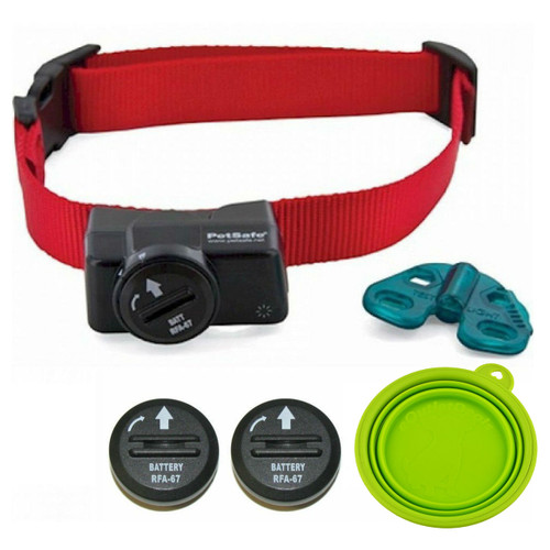PetSafe  PIF-275-19 Instant Fence Wireless Dog Fence Collar FREE BATTERY AND TRAVEL BOWL