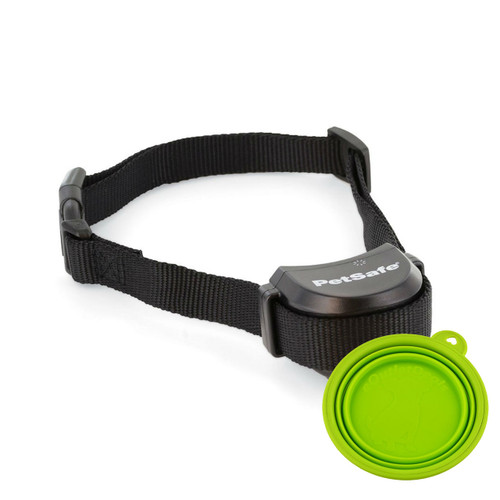 Petsafe PIF00-15002 Free to Roam Wireless Fence Extra Collar + Travel Bowl