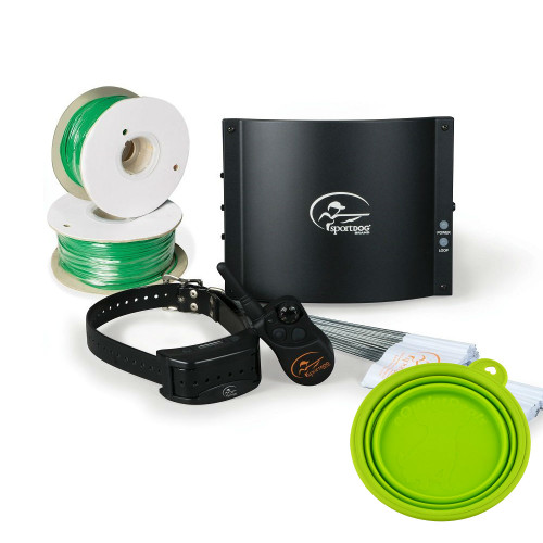 SportDOG Contain-N-Train In-Ground Fence System + FREE TRAVEL BOWL