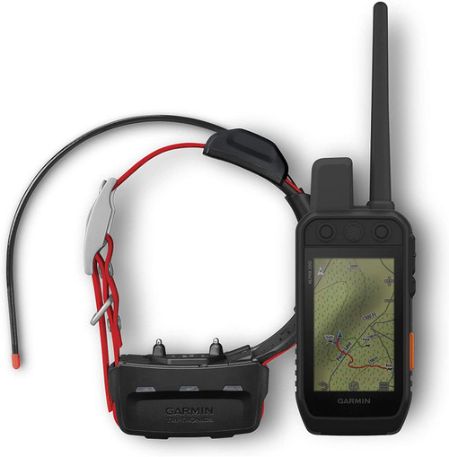 "Garmin Alpha 200i/TT 15 Mini Dog Tracking and Training Bundle, Handheld and Collar, Utilizes inReach Technology, Sunlight-readable 3.6"" Touchscreen (010-02230-10)"