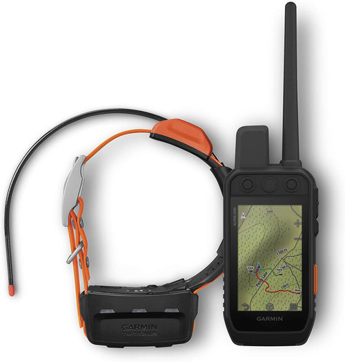 "Garmin Alpha 200i/T 5 Dog Tracking Bundle, Handheld and Collar, Utilizes inReach Technology, Sunlight-readable 3.6"" Touchscreen (010-02230-20)"