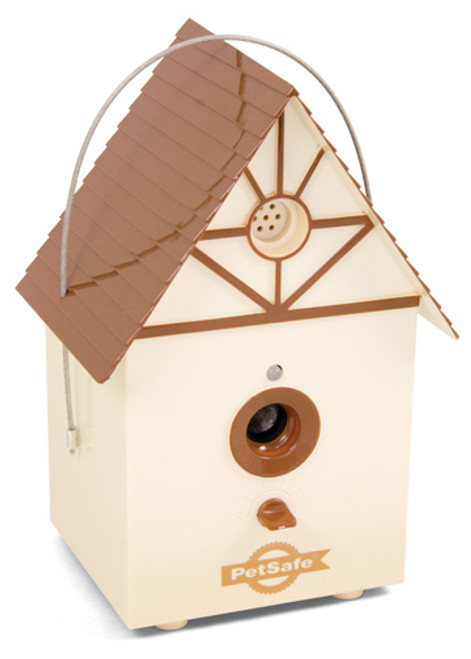 Petsafe PBC00-11216 Outdoor Ultrasonic Bark Control Birdhouse