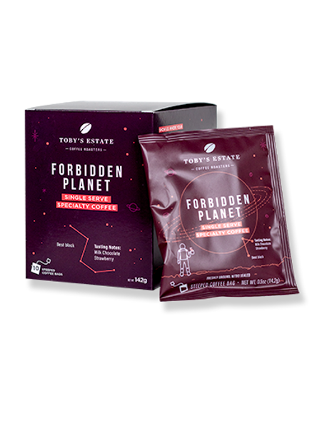 Toby's Estate Coffee Bags Forbidden Planet 10-Pack  142g