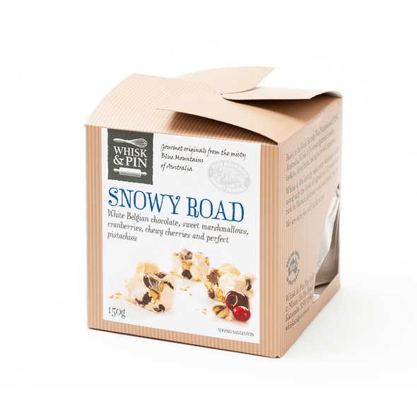 Whisk And Pin Snowy Road 150g (Carton of 3)