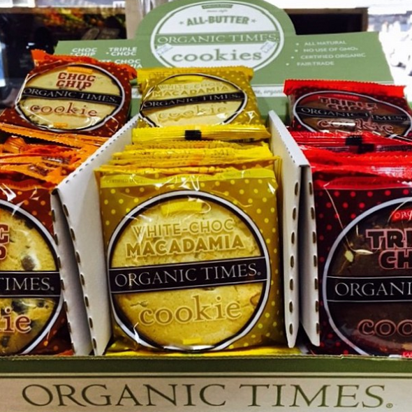 Organic Times Assorted Cookies Counter Sale 60g x 39