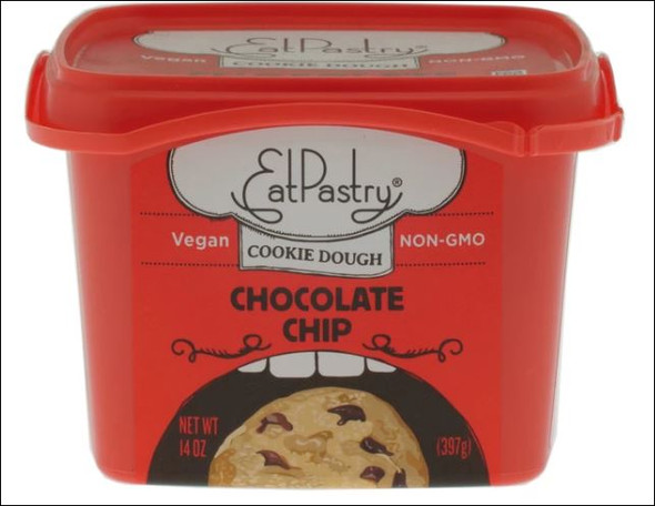 Eat Pastry Chocolate Chip Cookie Dough 397g (Carton of 6)