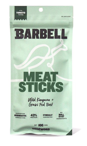 Barbell Foods Tomato Thyme Meat Stick 100g (Carton of 12)