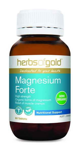 Herbs Of Gold Magnesium Forte 60-Tablets